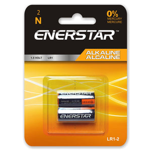 Battery N Alcaline (2) - Dollar Max Depot