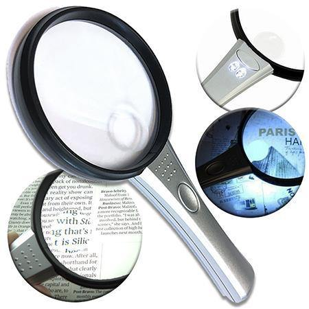 Magnifier With 2 LED