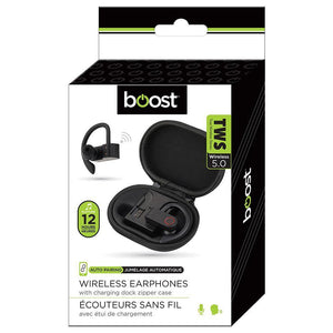 5.0 Wireless  earphones with charging dock - Dollar Max Depot