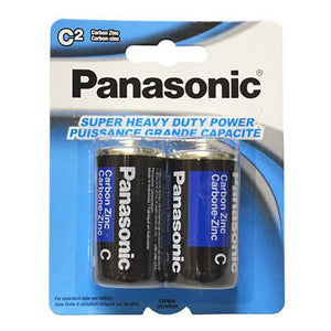 Panasonic Batteries C (2) - Dollar Max Depot
