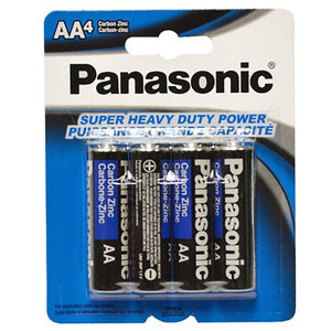 Panasonic Batteries Aa (4) - Dollar Max Depot