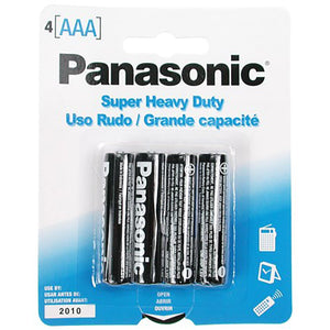 Panasonic Batteries Aaa (4)
