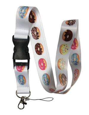 Lanyard With Wide Ribbon And Clips - Forev406221444