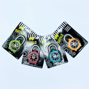 Colorful Combination Lock 45Mm With Monsters Motifs