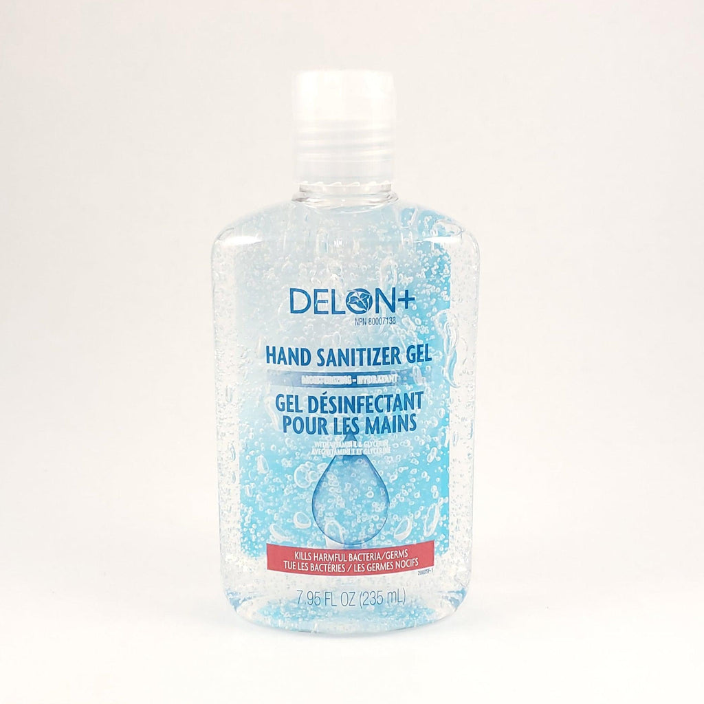 Delon+ Moisturizing Hand Sanitizer Gel With Vitamin E & Glycerin 235Ml