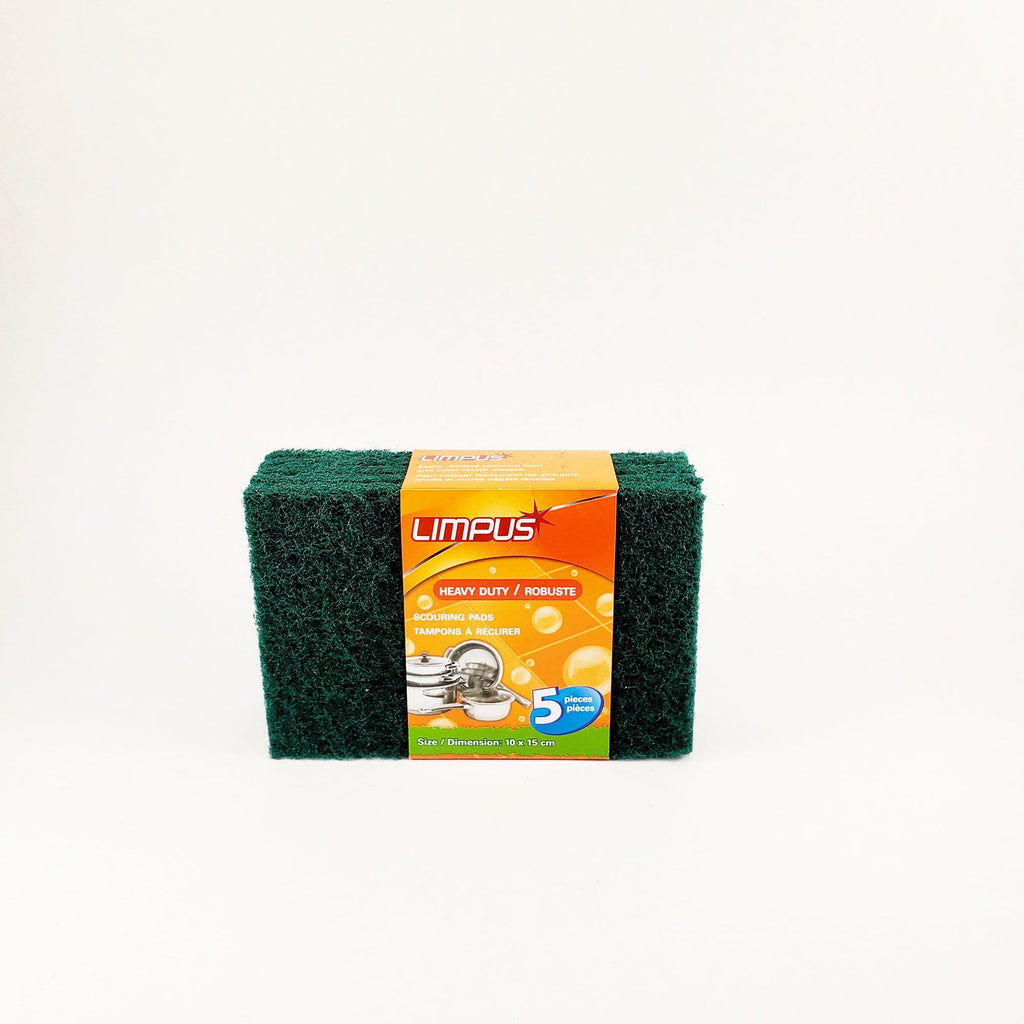 Pack Of 5 Heavy Duty Scouring Pads
