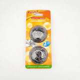 Heavy Duty Stainless Steel Scourer Pack Of 2 - Dollar Max Depot