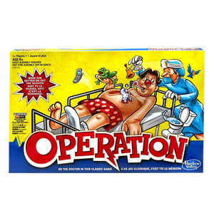 Game Operation Classic New Edition - Hasbro Boardgame - Dollar Max Depot