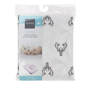 Kushies Crib Sheet-679 - Dollar Max Depot