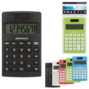 8 Digit Mini Calculator - Dollar Max Depot