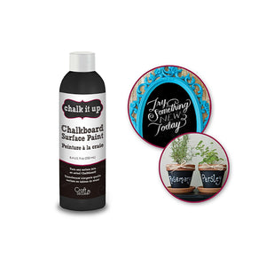 Craft Decor: 250Ml Chalk-It-Up Chalkboard Surface Paint - Dollar Max Depot