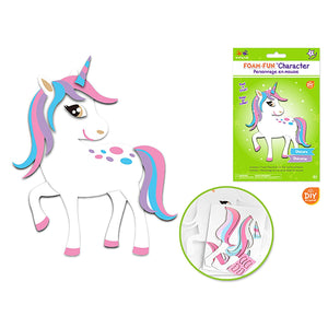 Unicorn Krafty Kids Kit: Diy Foam-Fun Character Kit (Makes 1)