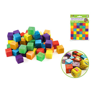 "Craftwood: 5/8"" (15M Cubes 36/Pk Colored - Dollar Max Depot"