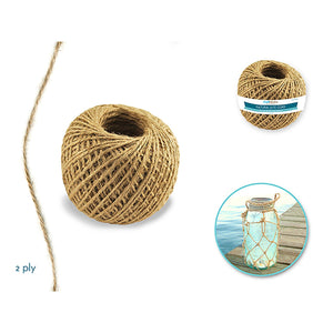 Craft Medley: 2Ply Natural Jute Cord 80G - Dollar Max Depot