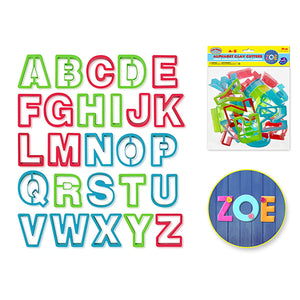 Krafty Kids: Lil' Artist Clay-Dough Alphabet Cutters X26 A-Z - Dollar Max Depot