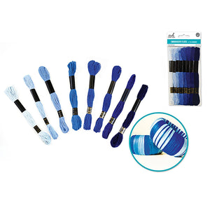 Needle Crafters Cotton Embroidery Floss Blue Heaven