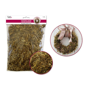 Dried Naturals: 2Oz Natural Indian Moss (60Gm - Dollar Max Depot
