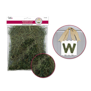 Dried Naturals: 50G Reindeer Moss Green - Dollar Max Depot