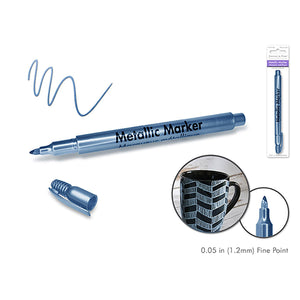 Blue Steel Metallic Marker: 1.2Mm Fine Point