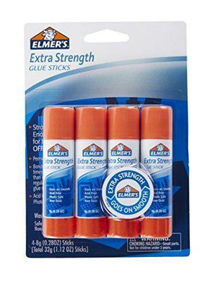 Elmer'S Extra Strength Glue Sticks 4 X 6G - Dollar Max Depot