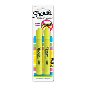 Sharpie 2 Highlighters Smear Guard