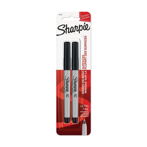 Sharpie 2 Ultra Fine Permanent Black Marker - Dollar Max Depot