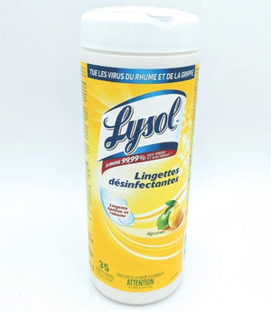 Lysol Disinfectant Wipes - 35 CT - Dollar Max Depot