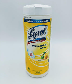 Lysol Disinfectant Wipes - 35 CT