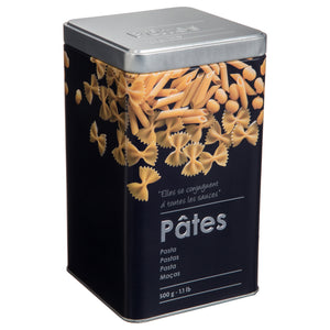 PRINTED TIN BOX - PASTA