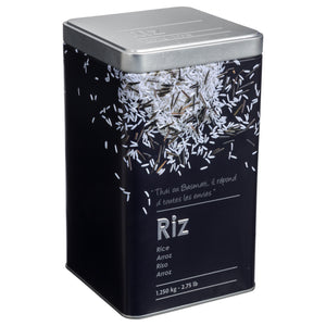 PRINTED TIN BOX - RICE
