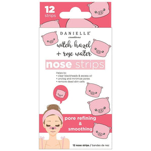 Black Head Nose Strips (12Pcs) - Pore Refining And Smoothing