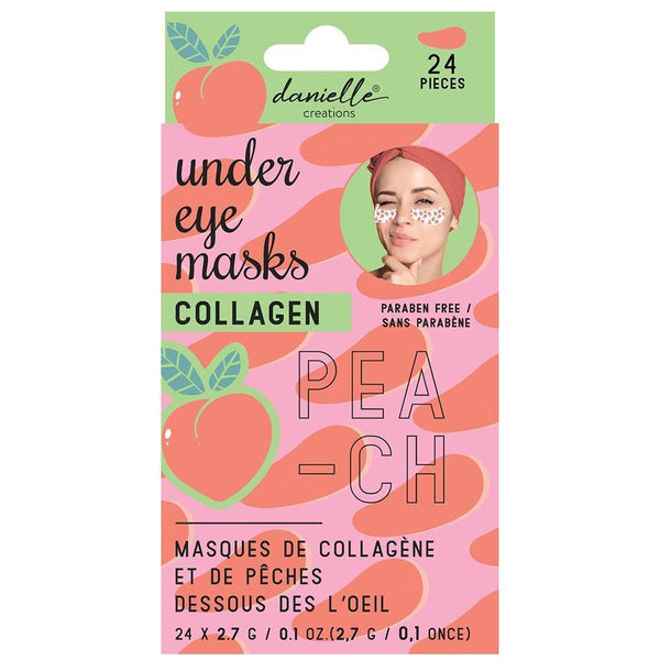 Under Eye Masks (24 Pcs) - Peach