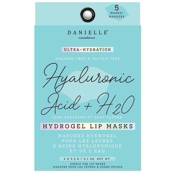 Hydrogel Lip Masks (5 Masks) - Hyaluronic