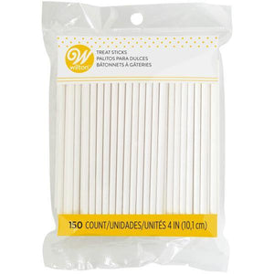Wilton Lollipop Sticks 4In Megapack 1 - Dollar Max Depot