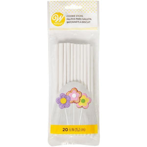 Wilton Cookie Sticks 6In 20 Count  Efs - Dollar Max Depot