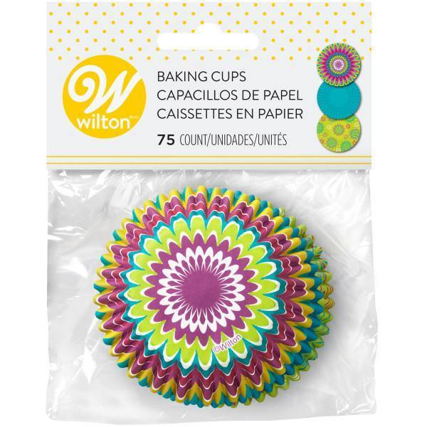 Baking Cups 75Ct Std Bright St