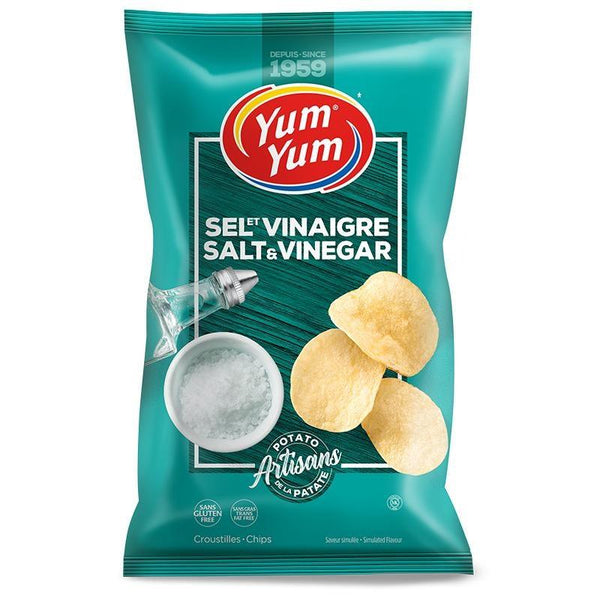 Salt & Vinegar Chips 150g