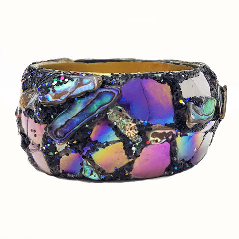 PURPLE PAUA BANGLE