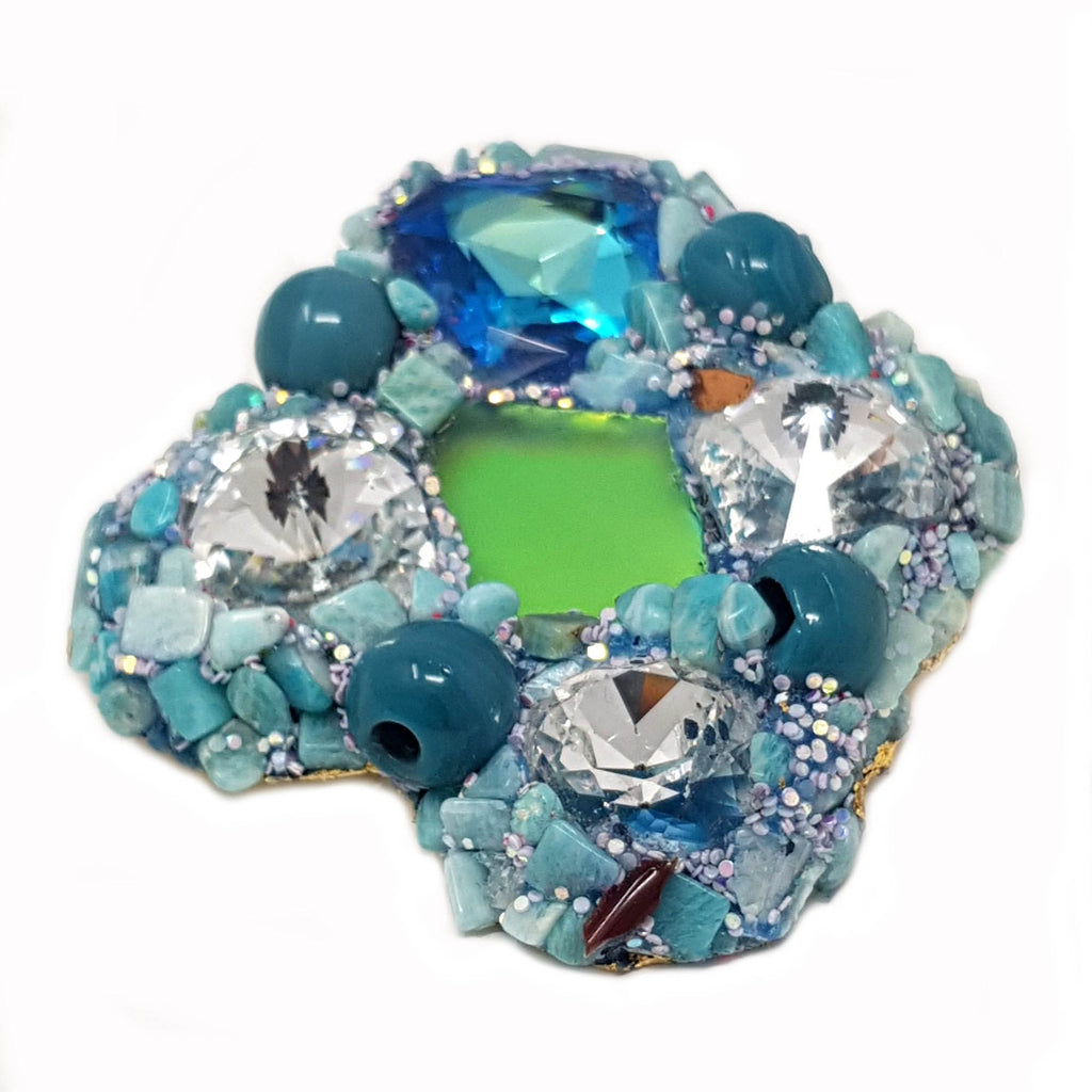 JEWEL TURQUOISE BROOCH