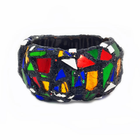 HARLEQUIN HINGED BANGLE