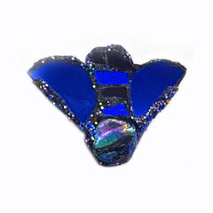 BLUE BEE BROOCH