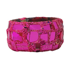 ANDREW LOGAN PINK BANGLE