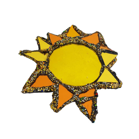 GOLDEN SUN BROOCH - SUMMER