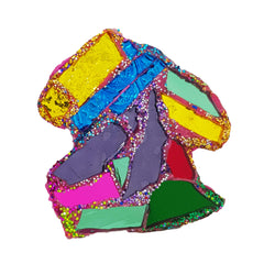 Andrew Logan Rainbow Chips Brooch