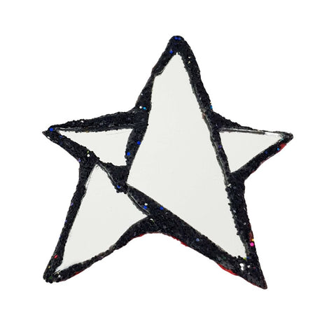 SILVER STAR BROOCH