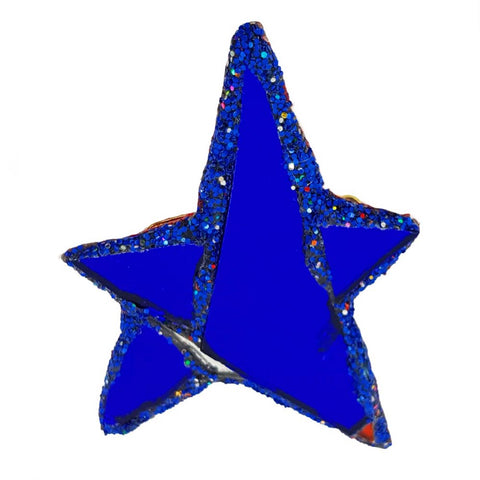 BLUE STAR BROOCH