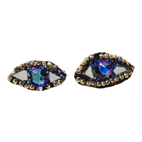 CRYSTAL EYE CUFFLINKS