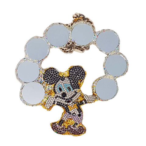 MICKEY AND THE BUBBLES NECKLACE