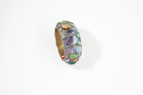 Lilac and Green Bangle, 2011