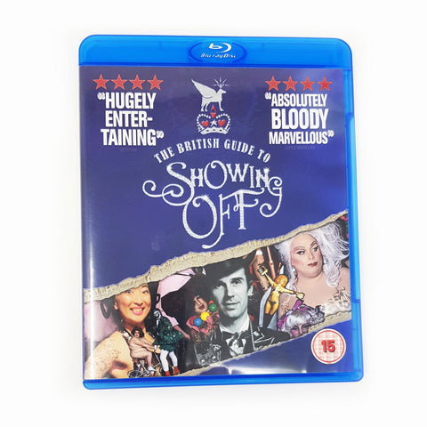 BLU-RAY DISC - THE BRITISH GUIDE TO SHOWING OFF